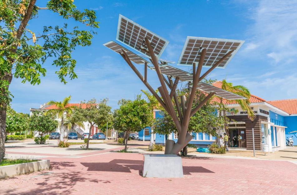 Parque eólico Aruba