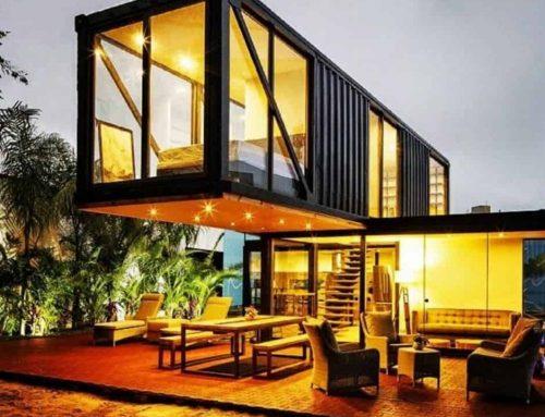 Construcción sustentable con contenedores